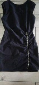 Formal Short Black Dress Women